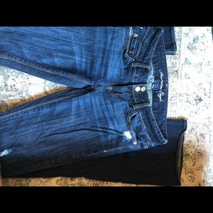 American Eagle Boot cut jeans (size: 4 X-Long)
